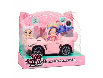 572411 Jucarie Masina pentru papusa Na!Na!Na! Surprise (de plus) Catmobile