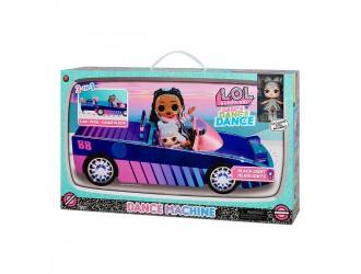 117933 Set de joaca Masina cabriolet cu o papusa exclusiva L.O.L. Surprise! Dance