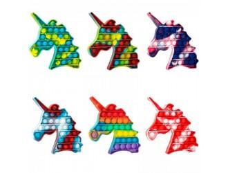 Jucarie Pop it & Flip it UNICORN multicolor