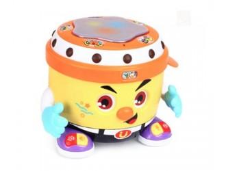 Hola Toys 6107 Tambur cu muzica si lumina