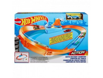 GJM75 Hot Wheels Track Series Circle Champion Cup Competition