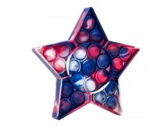 Разноцветная Игрушка Pop it & Flip it Звезда