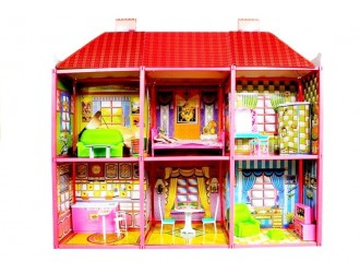 479 Кукольный домик Large Villa с мебелью