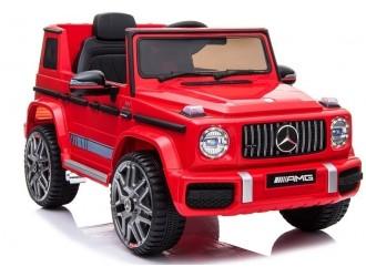3900 Masina electrica Mercedes G63 AMG culoare rosie