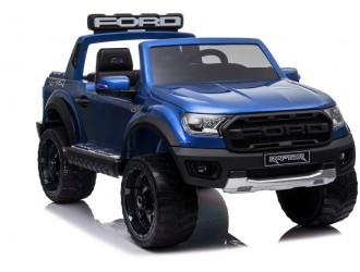 4705 Masina electrica Ford Raptor DK-F150R culoare albastra cu 2 locuri