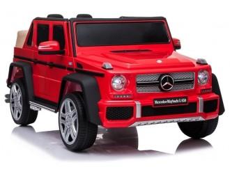 6437 Masina electrica Mercedes A100 culoare rosie