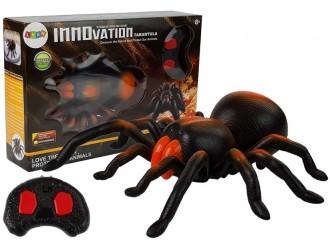6945 Тарантул игрушечный паук с ПДУ черно-оранжевый цвет