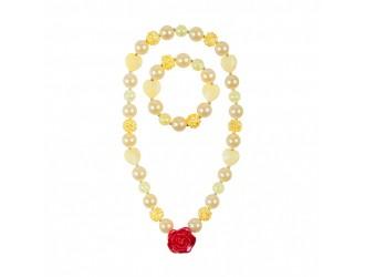 86084 Set accesorii Belle Beautiful Rose Great Pretenders (bratara, colier)