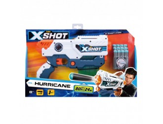 36440Z Blaster cu tragere rapida X-Shot EXCEL Hurricane (16 cartuse)