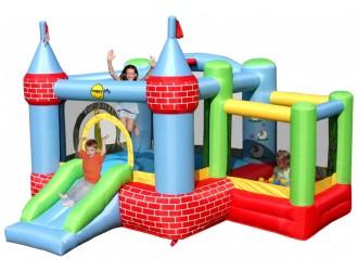 9112 Замок надувной матрас с детской площадкой