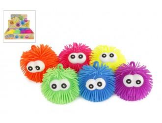620846 Jucarie minge cu ochi Pufferball 10cm diverse culori in asortiment