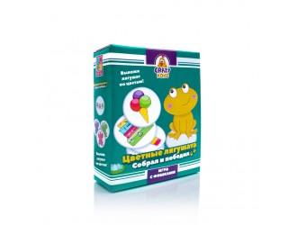 """VT8025-02 Joc de masa """"Broscutele colorate"""" (l.rusa) Vladi Toys"""