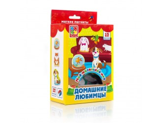 "VT3106-05 Set magneti ""Lumea mea. Animale Domestice"" (l. rusa) Vladi Toys"