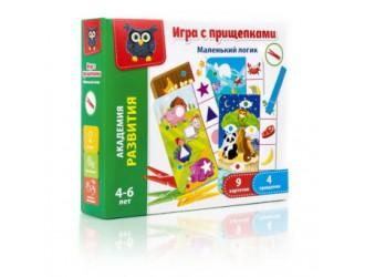 """VT5303-03 Joc cu cleste """"Logica micutului"""" l. rusa Vladi Toys"""