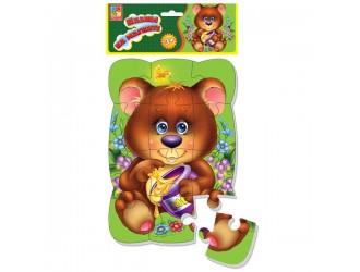 "VT3205-35 Puzzle magnetic A5 ""Ursulet"" Vladi Toys"