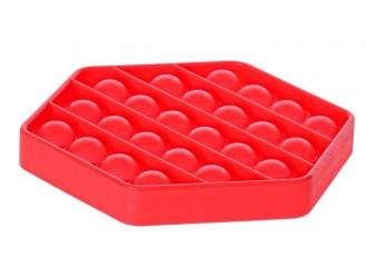620960 Jucarie Antistres Pop It 12,5cm 3 forme diverse culori