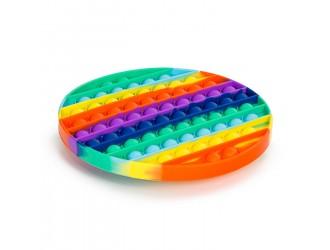 621016 Игрушка-антистресс Pop It  Разноцветный JUMBO 20cm круглый