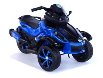 8265 3-колесный электрический мотоцикл CCT-1688A синий цвет