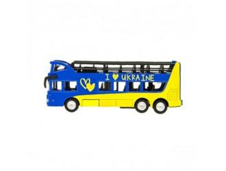 SB-16-21-UKR Model auto Autobuz cu doua etaje Ukraina Technopark