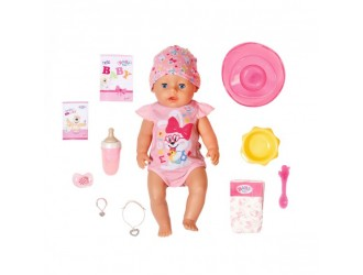 827956 Papusa bebelus Baby Born 43 cm seria Imbratisari blande Fetita fermecata cu accesorii