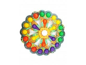 Simple Dimple BIG, multicolor 24 buline+rotire, model 3