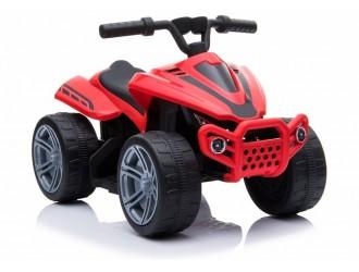 5714 TR1805 Motocicleta electrica cu 4 roti culoare rosie