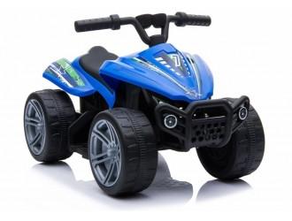 5713 TR1805 Motocicleta electrica cu 4 roti culoare albastra