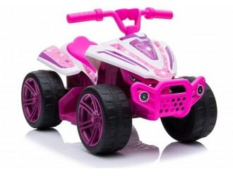 5712 TR1805 Motocicleta electrica cu 4 roti culoare roz