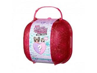 117988 Set de joaca valiza roz cu papusa L.O.L. SURPRISE! Seria Color Change  Bubbly Surprise