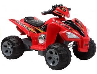 2035 Motocicleta electrica cu 4 roti - culoare rosie