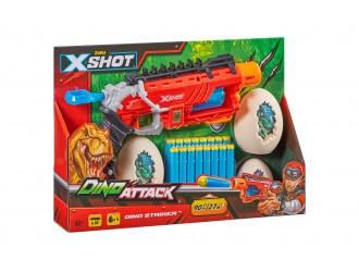4860 Jucarie Pistol DINO STRIKER X-SHOT (16 cartuse) 660092