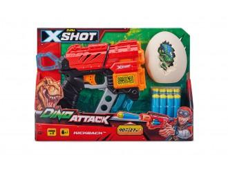 4870 Jucarie Pistol DINO EXTINCT X-SHOT (8 cartuse) 660105