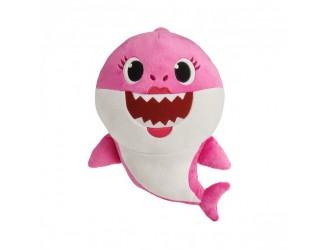 61033 Jucarie de plus muzicala Baby Shark Mama Bebelusului Rechin 30cm