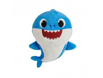 61032 Jucarie de plus muzicala Baby Shark Tata Bebelusului Rechin 30cm