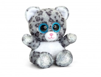 SF6558 Плюшевая игрушка Snow Leopard Animotsu 15см - Снежный барс
