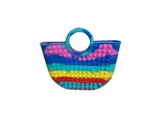 POP30645 Geanta mare POP IT, 28 cm, Multicolor