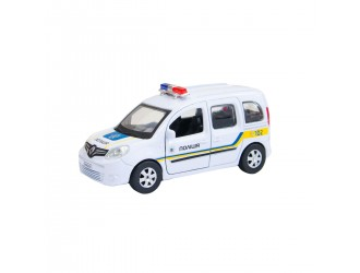 KANGOO-P(FOB) Model auto Renault KANGOO Police Ukraina (1:32) Technopark
