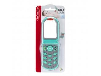 306307I Jucarie cu sunete Telefon FLIP&PEEK Infantino