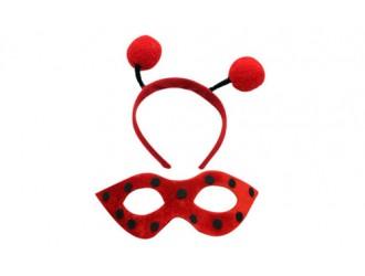 360509 Set masca si cerc pentru par Buburuza 6742