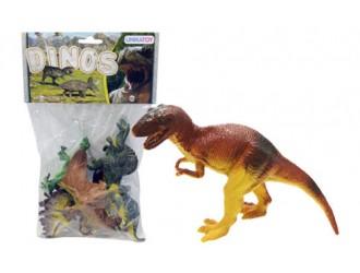 902021 Set figurine dinozauri  6 tipuri mici 24389