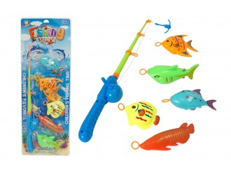 912395 Рыболовный набор с удочками и рыбой  25332