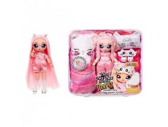 577423 Set Papusa Na!Na!Na! Surprise Seria Teens Mila Rose Petrecere in pijama