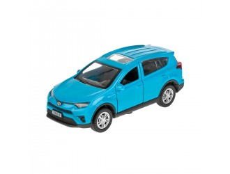 RAV4-BU Модель автомобиля TOYOTA RAV4 синий Technopark