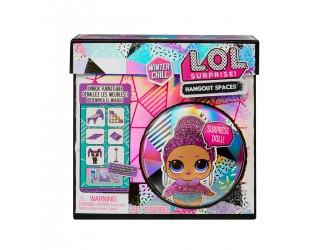 576631 Игровой набор с куклой  Зимний сад Королевы L.O.L. Surprise!