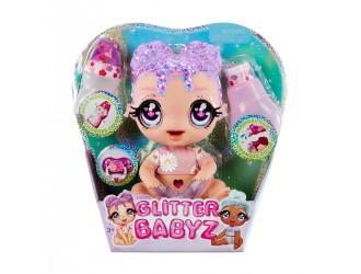 574866 Set papusa Glitter Babyz Lila Wildbloom