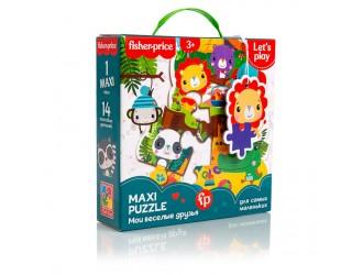 VT1711-06 Maxi Puzzle Fisher Price Prietenii Veseli Vladi