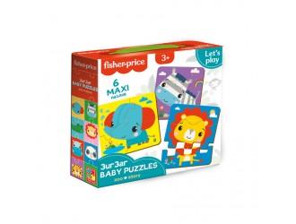 VT1722-05 Baby Puzzle ZOO Vladi Toys