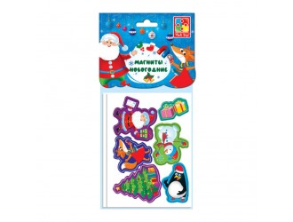 VT3209-01 Set figurine magnetice Eroii Anului nou Vladi Toys