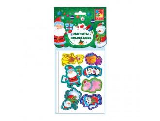 VT3209-02 Set figurine magnetice Compania vesela Anul Nou Vladi Toys