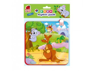 RK5010-09 Puzzle magnetic Animalele Australiei Roter Kafer